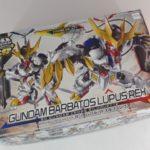 Box Open REVIEW SD Gundam Cross Silhouette Gundam Barbatos Lupus Rex