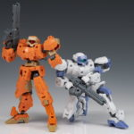 REVIEW 30MM 1/144 RABIOT White and Orange