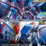 HGDB: R Alus Earthree Gundam and RG Force Impulse Gundam shipped today! Full images, Full info!