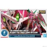 P-Bandai The Gundam Base Limited RG 1/144 00 Qan[T] Full Saber Trans-Am Clear