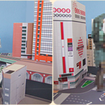 Free papercraft download lets you build Akihabara in your own home! LINKS, info