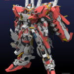 1/72 MAS-0033 MSA-0011 [Ext] Ex-S Gundam Plastic Model MECHANI CORE (Red and Blue Ver.) sample images