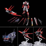 P-Bandai MG 1/100 Gundam Astray Red Frame Flight Unit: official images, info