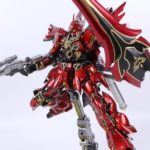 FULL REVIEW: Dachong's 1/100 Sinanju made of ABS, Die Cast, LEDs