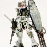 しんきち 's Amazing work MG 1/100 RX-78-1 GUNDAM equipment test type custom. Images, description
