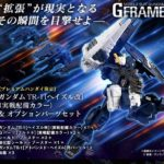 P-Bandai Mobile Suit Gundam G Frame Gundam TR-1 Hazel Custom and Option Parts Set