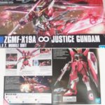 Box Open Review HGCE 1/144 ZGMF-X19A Infinite Justice Gundam
