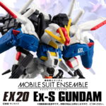 P-Bandai Mobile Suit Ensemble EX20 Ex-S Gundam: official images, release info