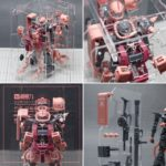 Review Special acrylic display stand for MG 1/100 Zaku II Ver.2.0 by In Studio