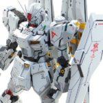 g_craft's MG ν Gundam ver.Ka remodeled. Images, info
