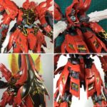 FULL REVIEW: MG 1/100 MSN-06S Sinanju Full Exterior shell modified by Takumi Studio