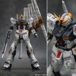 REVIEW WaTeR-Trouble Toys' RG 1/144 ν Gundam Remodeled Garage Kit