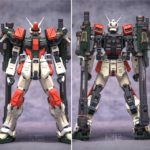 Review MG 1/100 GAT-X103 Buster Gundam by TopLess (garage kit + Bandai frame), info