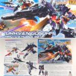 Box open Review HGBD: R 1/144 Uraven Gundam
