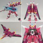 Review HGCE 1/144 ZGMF-X19A Infinite Justice Gundam