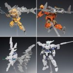 Review 30MM 1/144 EXA Air Fighter Ver. (White and Gray)