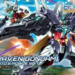 HGBD: R 1/144 Uraven Gundam package (box painting), painting completed sample images released, info
