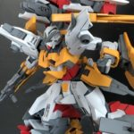 HG 1/144 Kyrios Repair IV custom build by ガンプラ赤 images, info