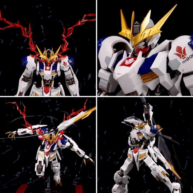 Full Review Metal Roboté' Gundam Barbatos Lupus Rex Gunjap