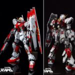 Review MG 1/100 ν Gundam Garage Kit by XIAYA-STUDIO