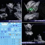 Preview Resin kit 1/20 Gundam Exia Bust: images, info