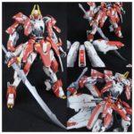natsume's HGIBO 1/144 STH-18 IO Frame 妲己 custom build. Images, info