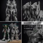 FULL sample Preview LabZero HGUC 1/144 ARX-014S Silver Bullet Suppressor Garage Kit, info
