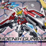 SD Gundam Cross Silhouette Phoenix Gundam package (box) images released, info