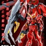 P-Bandai MG 1/100 RGX-00 Testament Gundam: official images