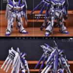 Full Official example images: MG 1/100 RX-93-v2 Hi-ν Gundam Ver.Ka Remodeled