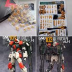 Box Open Review MG Buster Gundam semi-resin kit by TopLess Studio