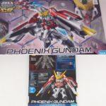 Box Open Review SD Gundam Cross Silhouette GGF-001 Phoenix Gundam (SD Gundam G GENERATION)