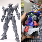 Resin Cast parts for PG 1/60 Gundam Exia: many images
