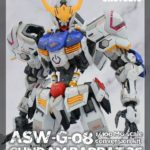 Box open, comparison, assembled painted: full Review SH STUDIO detail up for MG Gundam Barbatos