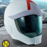 1/1 Full Scale Works Earth Federation Forces Helmet, info/images