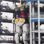 Wednesday pics Gundam Factory Yokohama. Gundam Global Challenge Project