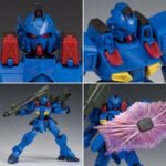Review P-Bandai RE/100 Gun Ez Ground Type Bluebird Team Custom