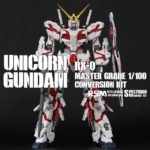 Masterpiece: MG Unicorn Gundam conversion kit. Full images