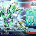 HGBD:R 1/144 Nepteight unit: box, painting completed sample images released