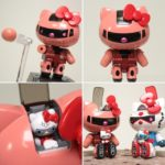Review Chogokin Char's Zaku II Hello Kitty