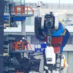 This Monday July 13 images @ Gundam Factory Yokohama. Gundam Global Challenge Project