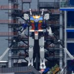 Some new photos of the day @ Gundam Factory Yokohama. Gundam Global Challenge Project