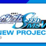 (ANIME) Mobile Suit Gundam SEED MSV NEW PROJECT ?