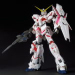 Mega size model 1/48 Gundam base limited RX-0 Unicorn Gundam Ver. TWC (Full images, info)