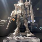 Gundarium alloy model 1/144 RX-78-2 Gundam test shot exhibition photos released