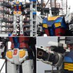 Saturday: many pics Gundam Factory Yokohama. Gundam Global Challenge Project