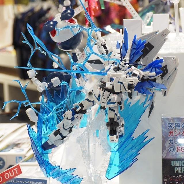 New Images Rg 1 144 Gundam Base Limited Unicorn Gundam Perfectibility Gunjap