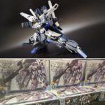 Many Images: MG 1/100 Gundam Base Limited FAZZ Ver.Ka Titanium Finish now on sale in Gundam Base Tokyo/Fukuoka