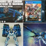 Review P-Bandai HG Extreme Gundam and Eclipse-F parts EXVS 10th Anniversary Color Ver.