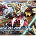 HGBD:R 1/144 Gundam Anima Rize: Box Art, sample images released
